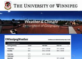 weatherstation.uwinnipeg.ca