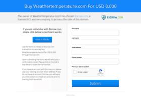 weathertemperature.com