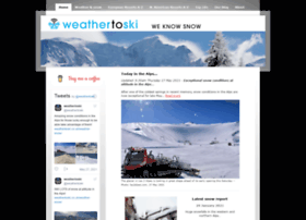 weathertoski.co.uk