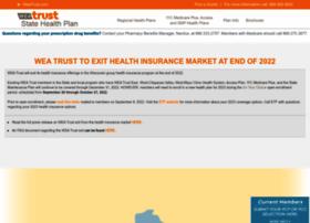 weatruststatehealthplan.com