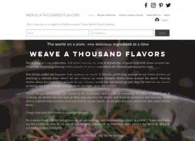 weavethousandflavors.com