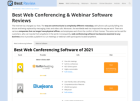 web-conferencing-software.bestreviews.net