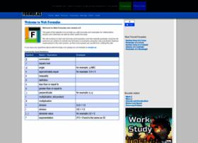 web-formulas.com
