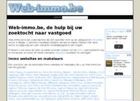 web-immo.be