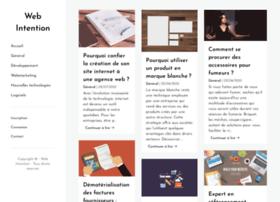 web-intention.com