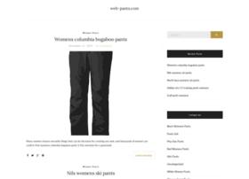 web-pants.com