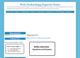 web-technology-experts-notes.in