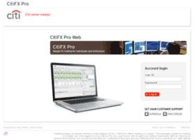 web.citifxpro.com