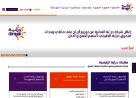 web.derayah.com