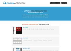 web.forumactif.com