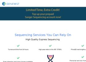 web.genewiz.com