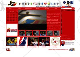 web.slovakhandball.sk