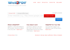 web2pdf.com.au