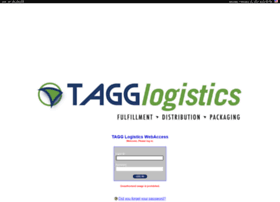 webaccess.tagglogistics.com
