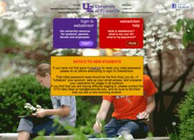 webadvisor.evansville.edu