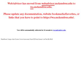 webadvisor.mckendree.edu