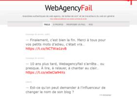 webagencyfail.com