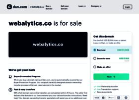 webalytics.co