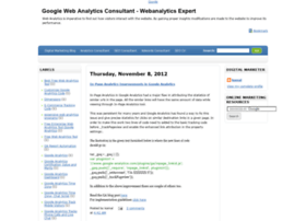 webanalyticsconsultant.advertisingaxis.com