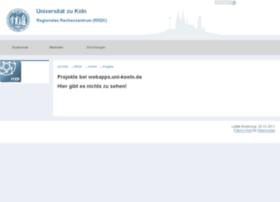 webapps.uni-koeln.de