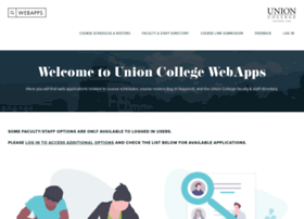 webapps.union.edu