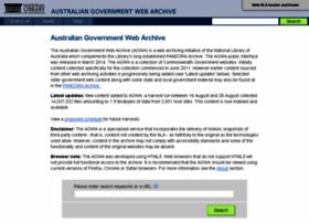 webarchive.nla.gov.au