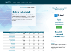 webbhotellbilligt.se