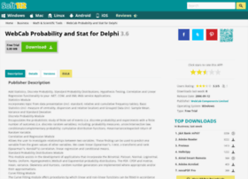 webcab-probability-and-stat-for-delphi.soft112.com