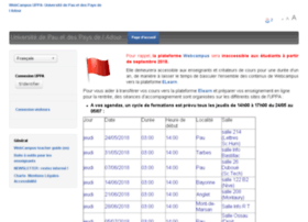 webcampus.univ-pau.fr