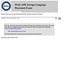 webcape.byuhtrsc.org