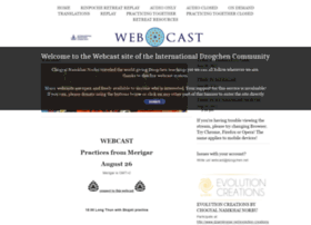 webcast.dzogchen.net