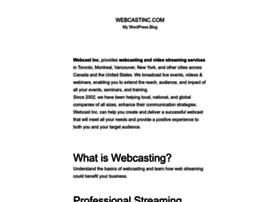 webcastinc.com