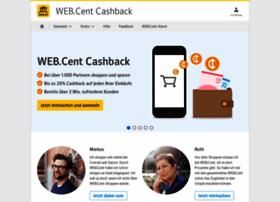 webcentsammeln.web.de