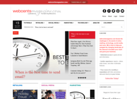 webcentsmagazine.com
