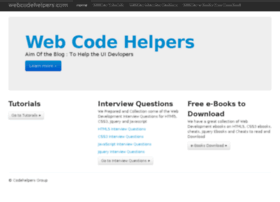 webcodehelpers.com
