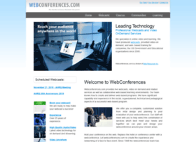 webconferences.com