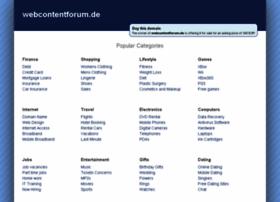 webcontentforum.de