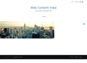 webcontentindia.com