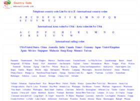 webcountrycode.com