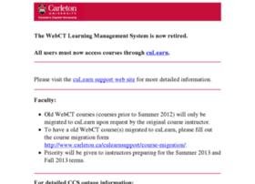 webct6.carleton.ca