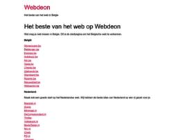 webdeon.be