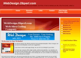 webdesign.dbperl.com