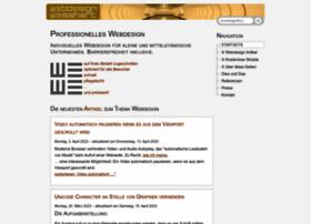 webdesign.weisshart.de