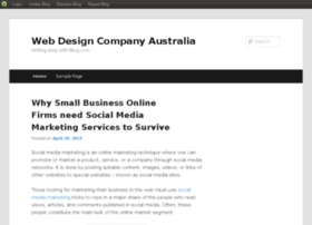 webdesigncompanyaustralia.blog.com