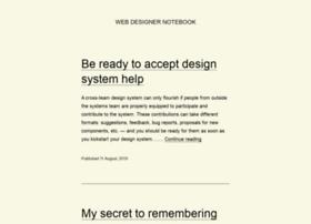 webdesignernotebook.com