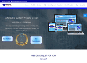 webdesignjustforyou.com