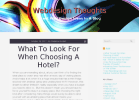 webdesignthoughts.com