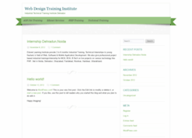 webdesigntraininginstitute.wordpress.com