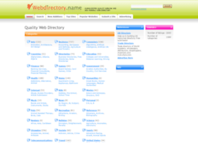 webdirectory.name