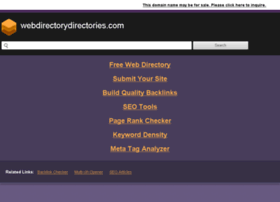 webdirectorydirectories.com